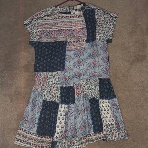 NWT Zara girls size 14 dress/tunic top
